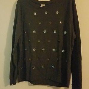 Dressy sweatshirt
